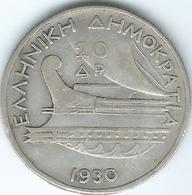 Greece - Republic - 1930 - 20 Drachmai - KM73 - Greece