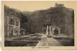 12 NAJAC   La Gare Et Le Château - Najac