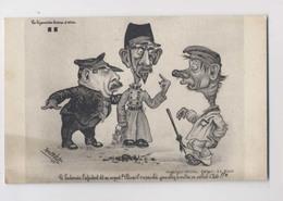 Doigt D Honneur - Adjudant Au Sergent : IL N'A PAS OBÉI VOUS ALLEZ LE METTRE EN CELLULE OÏDE - Illustrateur René Frébet - Humour