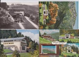 BERGHOF OBERSALZBERG BERCHTESGADEN DEUTSCHES REICH FÜHRER HITLER HITLERHAUS LOT DE 8 CARTES POSTALES - Berchtesgaden