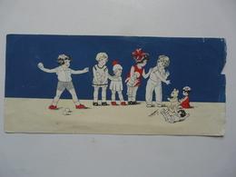 VIEUX PAPIERS - BUVARD : Scène Animée Avec Enfants - Kinder