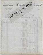 58 - Nièvre - NEVERS - Facture BONNICHON & BARRAUD - Fabrique De Parquets De Chêne - 1904 - REF 138A - 1900 – 1949
