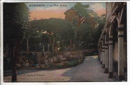 Cpa Robinson Le Vrai Arbre - France