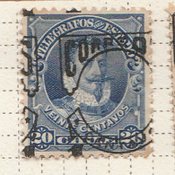 PIA  - CILE  -  1904- Francobolli-Telegrafo Sovrastampati -    (Yv  52 ) - Chile