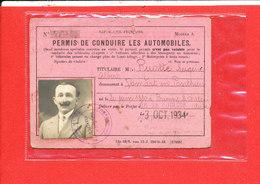 Eugene RUOTTE Residant Domart PERMIS De CONDUIRE Les AUTOMOBILES - Voitures De Tourisme
