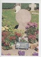 Arcangues : Le Cimetière, Tombe Discoïdale De Luis Mariano 1914-1970 (poème Pierre D'Arcangues, Cp Vierge) - Chanteurs & Musiciens