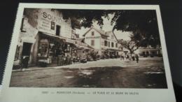 CPA - 13397. MONNETIER La Place Et Le Bazar Du Salève - Autres Communes