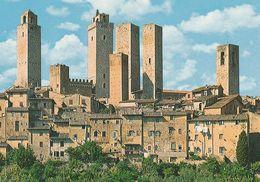1 AK Italien * San Gimignano Mit Seinen Mittelalterlichen Geschlechtertürmen - Seit 1990 Weltkulturerbe Der UNESCO * - Italie