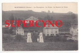 25 DOUBS SSN° MONTBENOIT LA PERCEPTION LA POSTE LE BUREAU DE TABAC - France