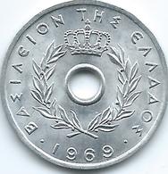 Greece - 1969 - 10 Lepta - Constantine II - KM78 - UNC - Grecia