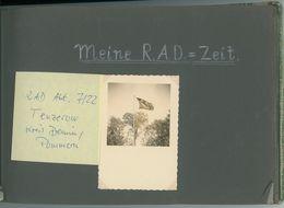 RAD-Abt. 7/22 . Tenzerow, Kreis Demmin 1939, Album 100 Fotos, Boock PLZ 17322 - 1939-45