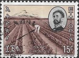 ETHIOPIA 1965 Sisal (inscr 'SUGAR CANES') - 15c - Multicoloured FU - Etiopia