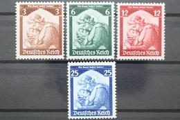 Deutsches Reich, MiNr. 565-568, Ungebraucht / Unused - Deutschland