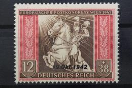 Deutsches Reich, MiNr. 825, Senkr. Strich Im Pferd, Postfrisch / MNH - Errors And Oddities