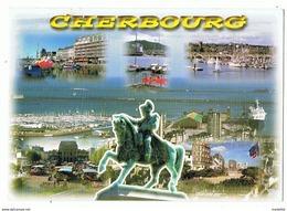 LOT DE 2 CPM..50..CHERBOURG..MULTIVUES - Cherbourg