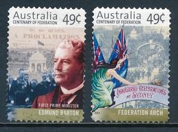 °°° AUSTRALIA - Y&T N°1909/10 - 2001 °°° - 2000-09 Elizabeth II