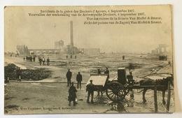 ANTWERPEN - Voorvalen Werkstaking Antwerpsche Dockers 1907 - Zagerij Van Huffel & Smeur - Incidents Dockers D'Anvers - Antwerpen