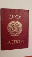 USSR. Ukraine, Ukrainian Passport  ID Card   - 1980s  Edition - Ukraine (Zhdanov City) - Documents Historiques