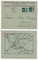 Suisse // Schweiz // Switzerland // 1907-1939 // Valais //  Lettre De St.Luc Pour Lucerne - Switzerland