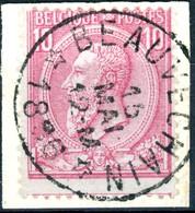 Nr. 46 = Relais BEAUVECHAIN - 1884-1891 Leopold II
