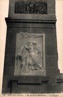 14832       PROYART    BAS RELIEF DU MONUMENT   LE DEPART - Other Municipalities