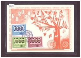 "PORTUGAL - EUROPA CEPT 1962 - CARTE MAXIMUM  ""PEN""  - TB - Europa-CEPT"