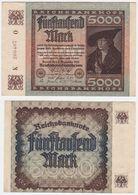 Germany P 81 - 5000 2.12.1922 - VF - 5000 Mark