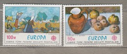 EUROPA 1975 Cyprus Turkey Mi 23-24, Yv 14-15, Sc 26-27 MNH (**) # 20678 - Cipro (Turchia)