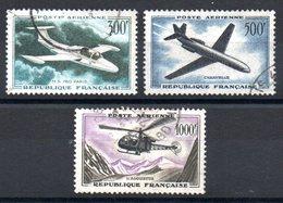 FRANCE - YT PA N° 35 à 37 - Cote: 35,30 € - Airmail