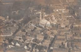 CARTE PHOTO ALLEMANDE  CANTIN 1918 VUE AERIENNE LAZARETT - Autres Communes
