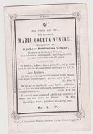Vyncke Velghe St Denijs Westrem Zevergem 1857 - Images Religieuses