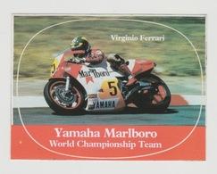 Sticker Motor: Yamaha Marlboro World Championship Team Virgininio Ferrari - Pegatinas