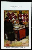 "CHINE  PEKIN - Marchand De Jade Foire De Long Fu Zeu "" Kong Fu Tseu""-  Coupure De Presse (illustration) 1933 - Obras Públicas"
