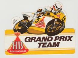 Sticker Motor: HB International Grand Prix Team - Pegatinas