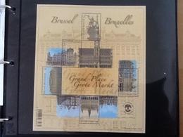 BL193** De Brusselse Grote Markt. - Blocks & Sheetlets 1962-....