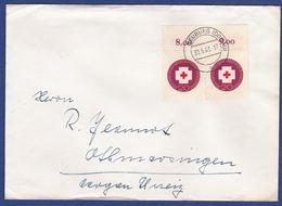 Brief Mehrfachfrankatur MiNr. 400 (aa0098) - Storia Postale