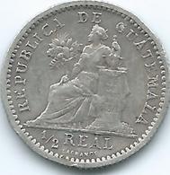 Guatemala - 1899 -½ Real - KM170 - Guatemala