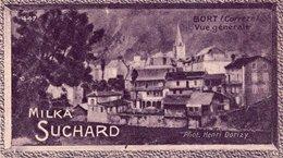 CHROMO - MILKA SUCHARD  N°447 - BORT (Correze)  Vue Générale - Photo Henri DORIZI - Suchard