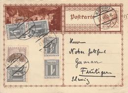 Autriche Entier Postal Illustré Pour La Suisse 1932 - Stamped Stationery
