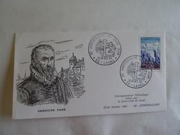 Enveloppe  - 1965 - AMBROISE PARE Xè Anniversaire Du Lions Club LAVAL 53 - Postdokumente