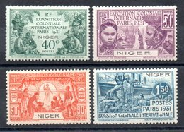Niger Y&T 53* - 56* - Ungebraucht