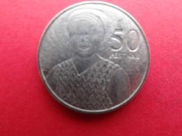 Ghana  50 Pesewas  2007  Km 41 - Ghana