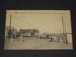 MECHELEN - Spoorwegbrug En Station Neckerspoel Gare - Uitg. Walschaerts N°40 - Malines