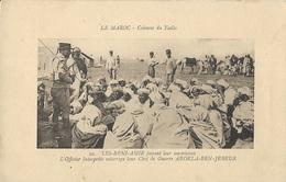 MAROC - Colonne Du Tadla - Les BENI-AMIR Faisant Leurs Soumissions - Morocco
