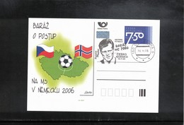 Czech Republic 2005 World Football Cup Germany Interesting Cover - 2006 – Alemania
