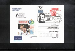 Czech Republic 2006 World Football Cup Germany Interesting Cover - 2006 – Alemania
