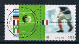 Frankreich 2002 Fußball Mi.Nr. 3620/21 Paar ** - 2001-10: Mint/hinged