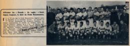 1962 : RUGBY, L'EQUIPE DU STADE BEAUMONTOIS QUI MONTE EN 1ere DIVISION, BEAUMONT-DE-LOMAGNE (TARN-ET-GARONNE) - Vieux Papiers