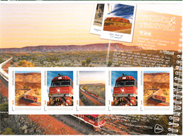 Trein, Train, Locomotive, Eisenbahn Nederland  2020 Treinen & Trajecten: The Ghan In Australie - Eisenbahnen