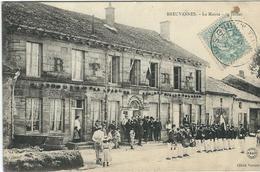 HAUTE MARNE : Breuvannes, La Mairie , 14 Juillet, Belle Carte Animée - France